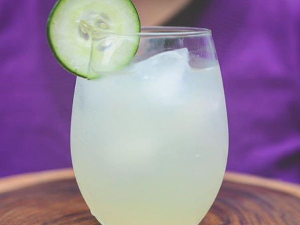 Limonada de pepino - Agua de pepino