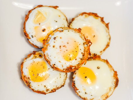 Eggs basket (baked eggs)