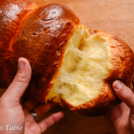 Brioche and tea time in the UK