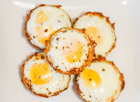 Eggs basket (baked eggs)