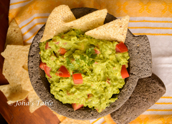 Flooding friendly rescue and guacamole