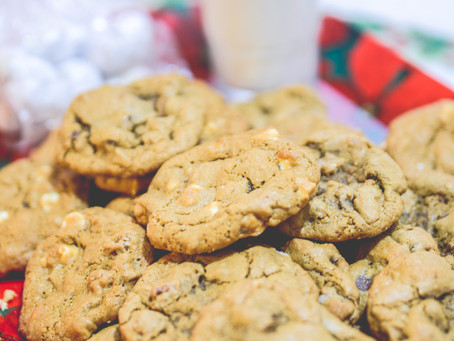Chocolate chip cookies | New Year traditions