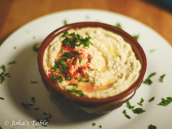 Hummus y los cedros del Líbano