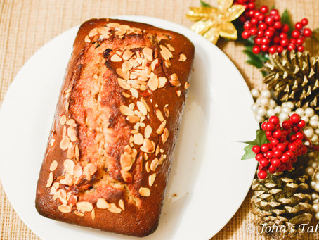 Old notes, New flavors, Centenarians - Almond Fruity Banana Bread