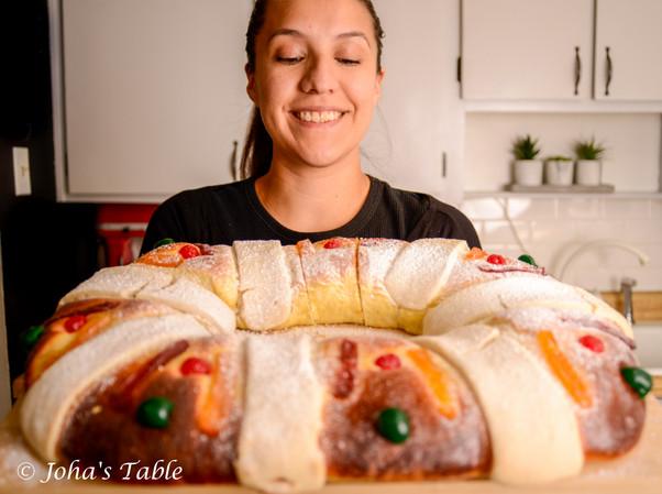 Rosca de Reyes y Navidad extendida (Rosca de Reyes Mexicana)