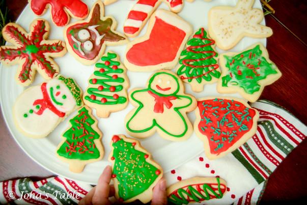 Sugar cookies and Christmas morning