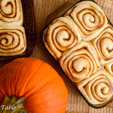 Pumpkin spice rolls, monkey bars and new mixes