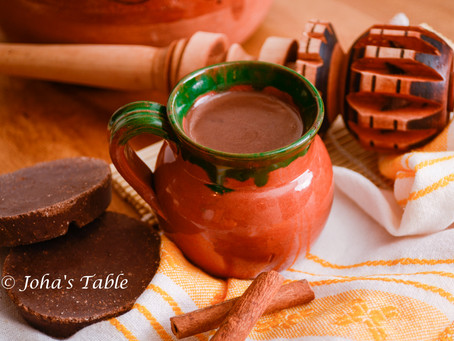 Polar weather and Mexican champurrado