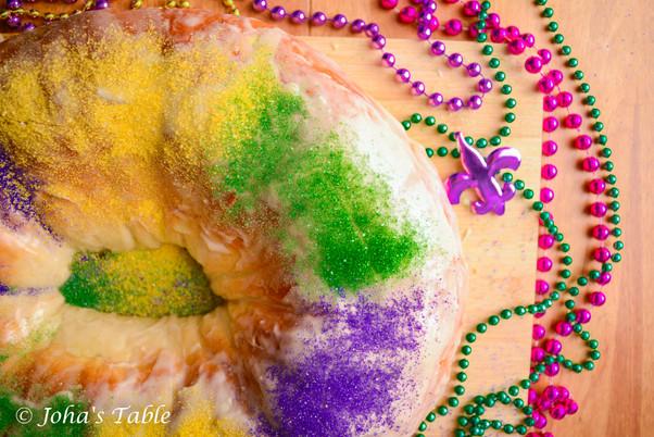 El King Cake, Mardi Gras, desfiles y carnaval - Rosca de Reyes