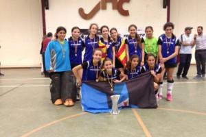 Campeona Cto. España Infantil 14/15