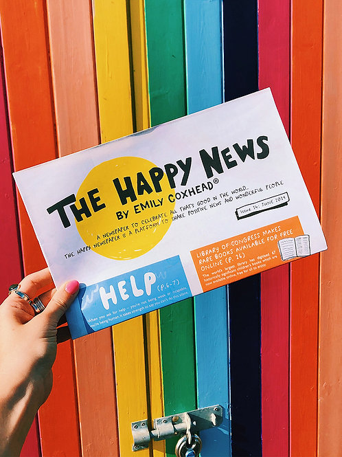 THE HAPPY NEWS - Issue 19: September 2020
