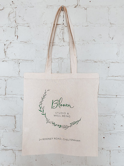 BLOOM CANVAS TOTE