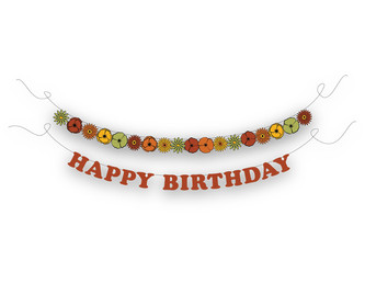 70's Birthday Party Banner