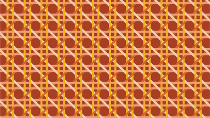 Retro Kitsch Tertiary Pattern