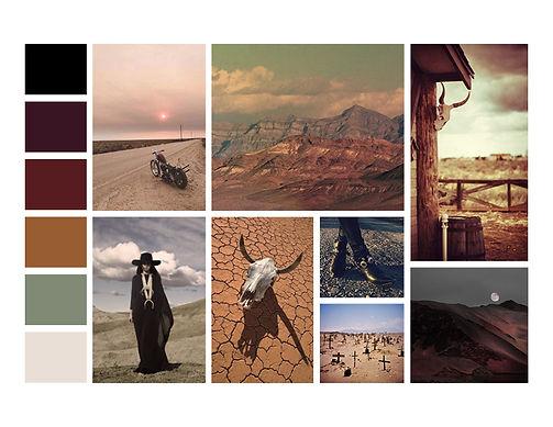 Death Valley Mood Board
