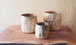 Spalted Sycamore Open Vessels