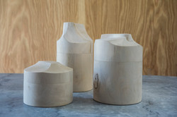 Holly Canister with Hand Carved Lid