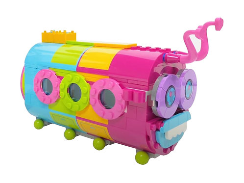 Parted: Caterpillar Bus Only - Rainbow Caterbus - (41256)