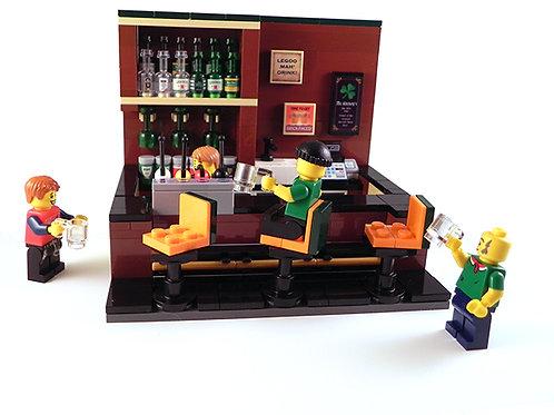 Custom Mini Bar: Irish Bar
