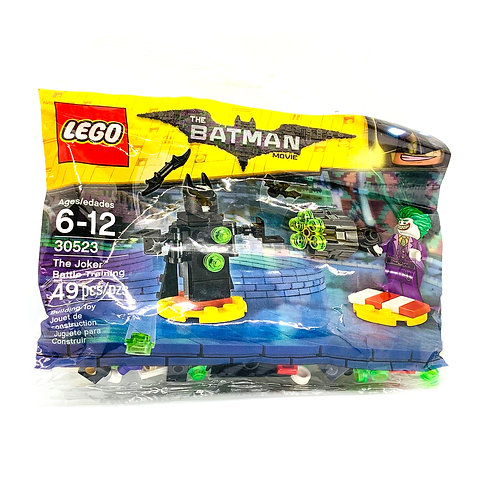 The Joker Battle Training - The Joker Battle Training Polybag - (30523)