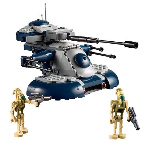 Parted Set: The Clone Wars Armored Assault Tank & Droids Only - (75283)