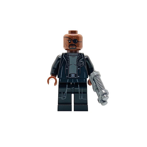 Nick Fury - Stark Jet and the Drone Attack - (76130)