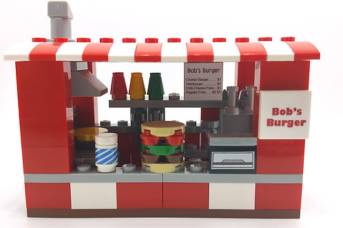 Custom :Bob's Burger Stall