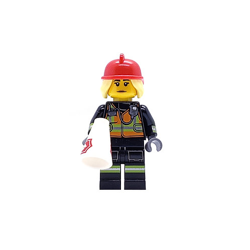 Fire Fighter - Lego Minifigure Series 19 (71025)
