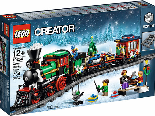 Creator Winter Holiday Train - (10254)