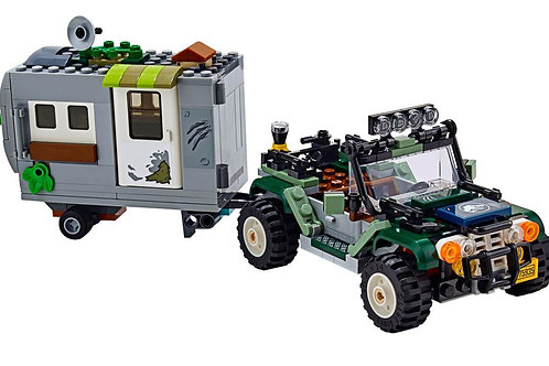 Parted Set: Jeep with Trailer - Baryonyx Face Off: The Treasure Hunt (75935)