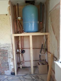 Manby, Boiler stove Installation