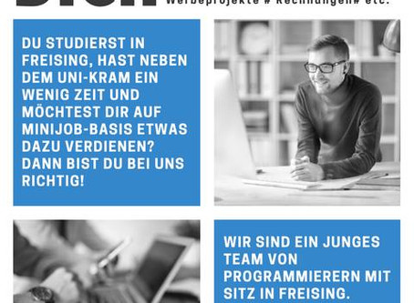 WIR SUCHEN DICH - BÜROKRAFT AUF MINIJOB BASIS (Home-Office mgl.)