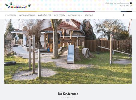Webseite einer Kindertagesstätte repariert