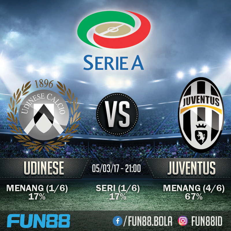 Prediksi Udinese v Juventus