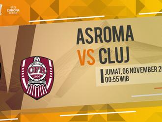 Prediksi Liga Europa: AS Roma vs Cluj