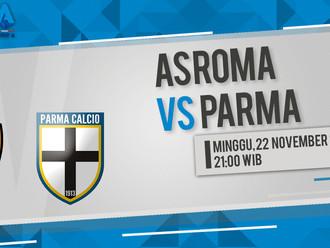 Prediksi Serie A: AS Roma vs Parma