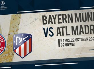 Prediksi Liga Champions: Bayern Munich vs Atletico Madrid