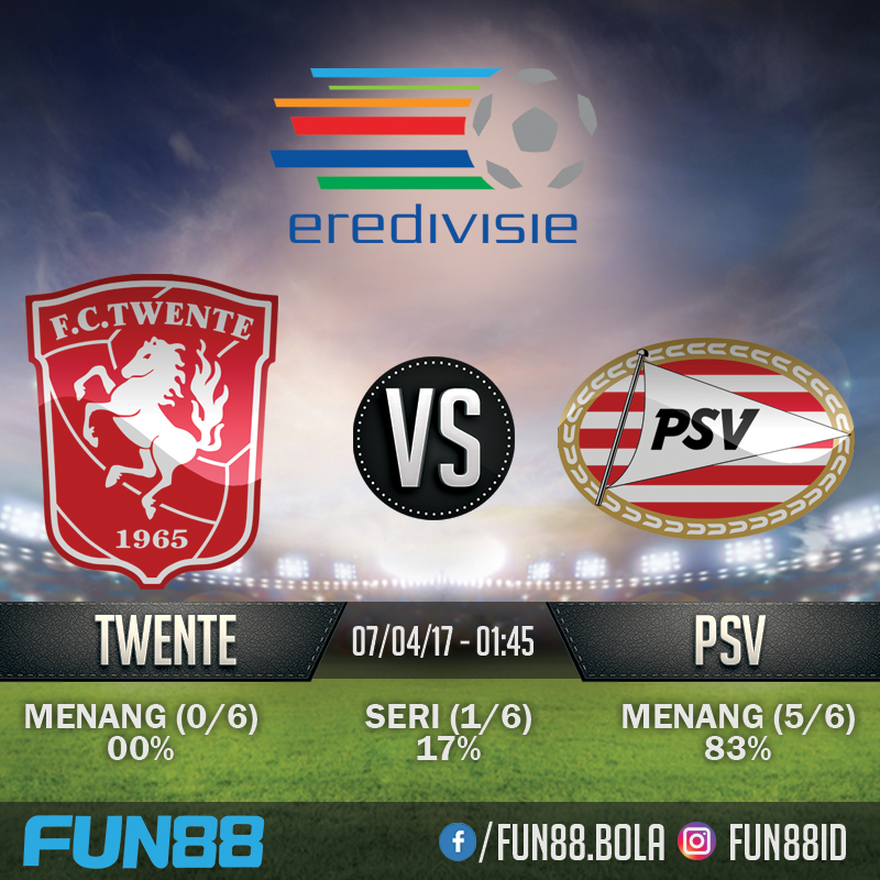Prediksi Eredivisie - Twente v PSV Eindhoven