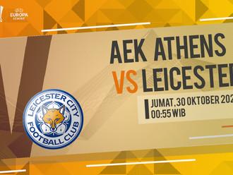 Prediksi Liga Europa: AEK Athena vs Leicester City