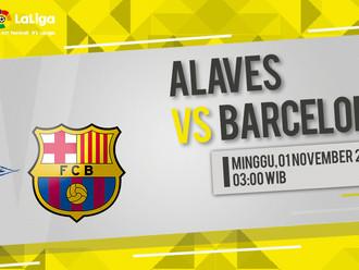 Prediksi LaLiga: Alaves vs Barcelona