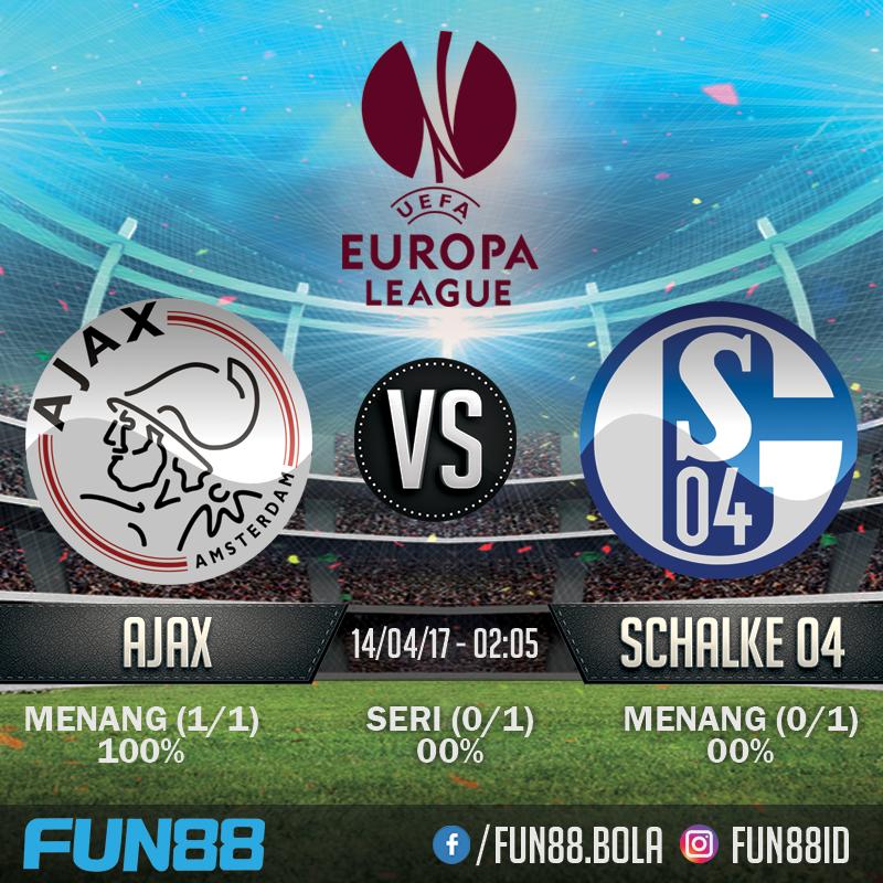 Prediksi Europa League - Ajax v Schalke 04