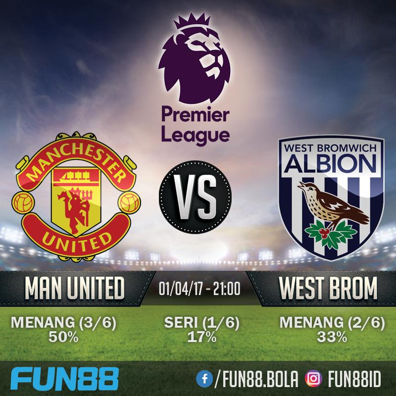 Prediksi Premier League - Manchester United v West Bromwich Albion
