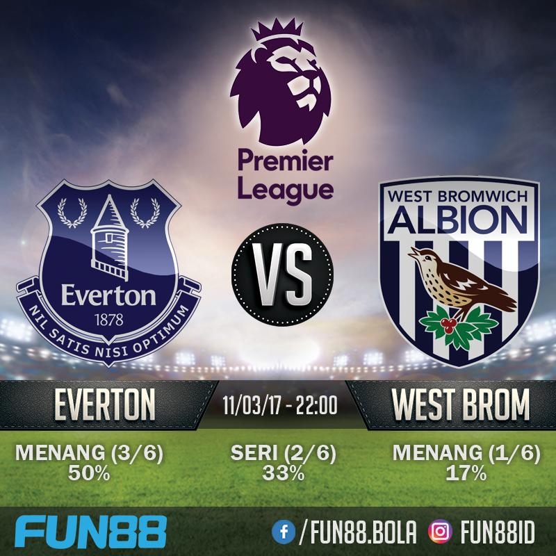Prediksi Premier League - Everton v West Bromwich Albion