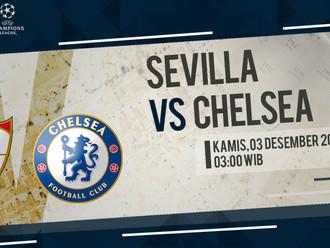 Prediksi Liga Champions: Sevilla vs Chelsea