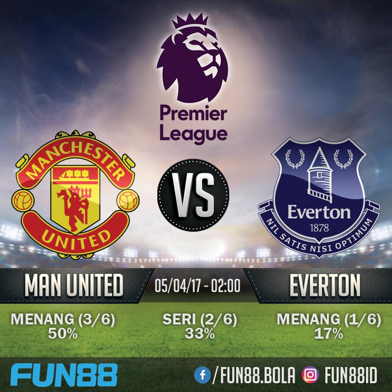 Prediksi Premier League - Manchester United v Everton