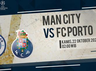 Prediksi Liga Champions: Manchester City vs FC Porto