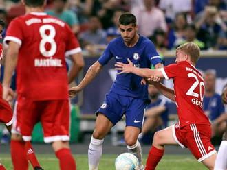 Debut Pertama Morata, Chelsea Kalah Dari Bayern di Singapore