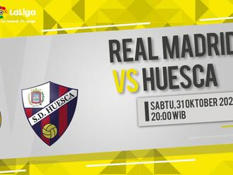 Prediksi LaLiga: Real Madrid vs Huesca