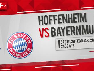 Prediksi Bundesliga: Hoffenheim vs Bayern Munich