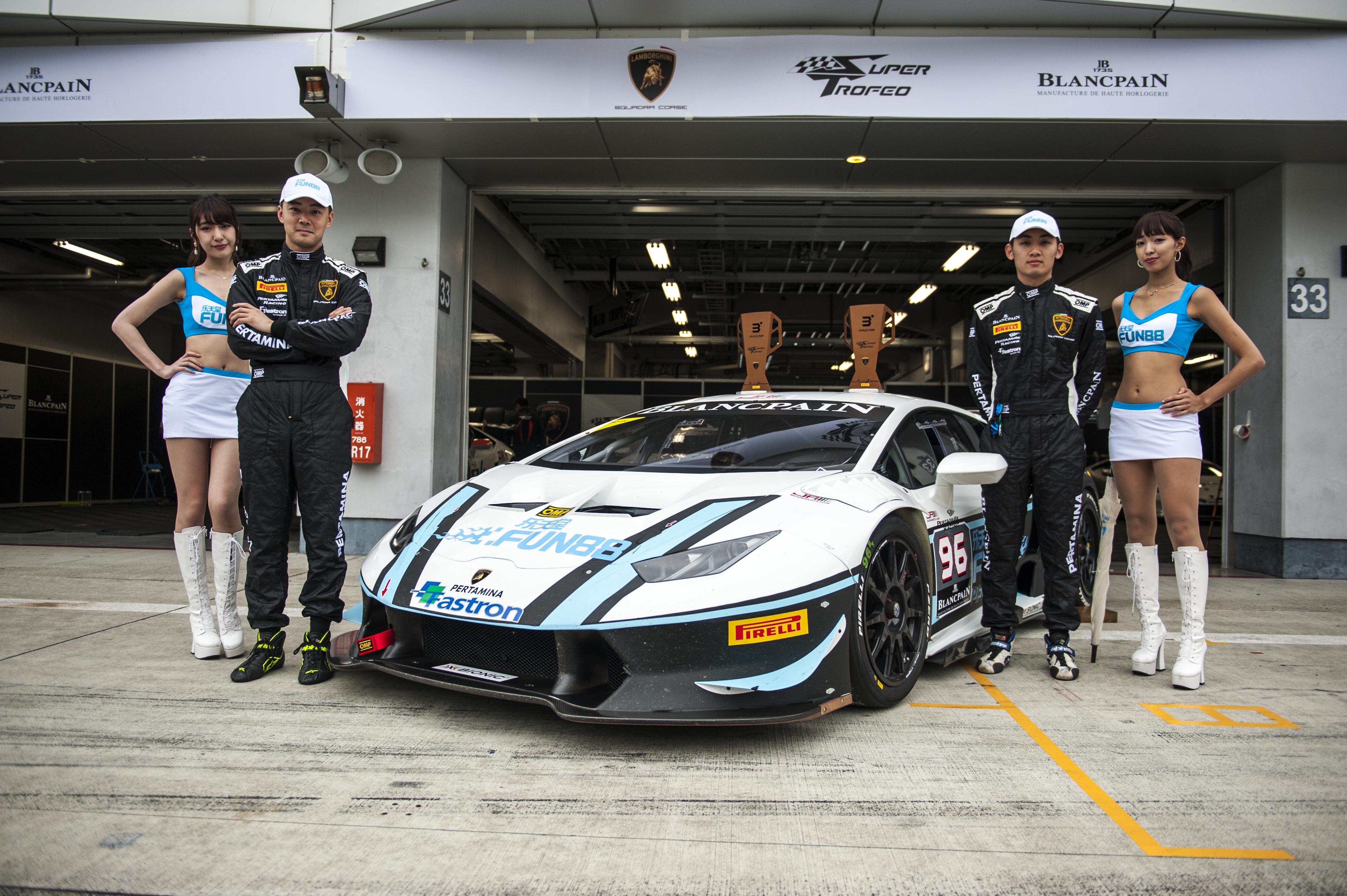 FUN88 x Fuji Race - Lamborghini 02